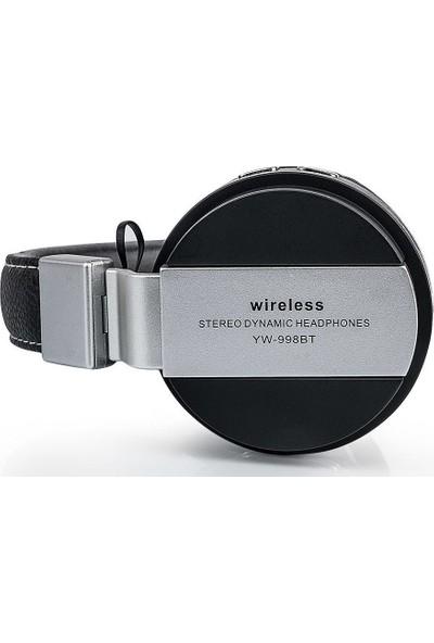 Saywin YW-998BT Bluetooth Kulaküstü Kulaklık - Siyah