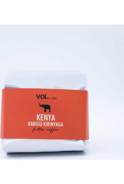 Voi Kenya Karigu Kirinyaga Aa Filtre Kahve 250 gr Öğütülmüş