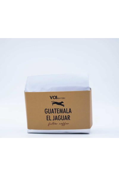 Voi Guatemala El Jaguar Filtre Kahve 250 gr Öğütülmüş