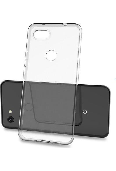 Microcase Google Pixel 3A XL Soft Silikon Kılıf - Şeffaf