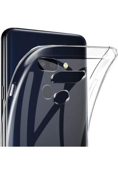 Microcase LG G8 ThinQ Soft Silikon Kılıf - Şeffaf