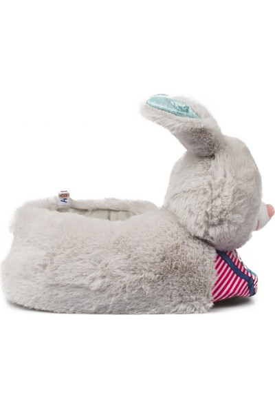 Twigy Nn0533F Tw Rabbit Gri Çocuk Panduf