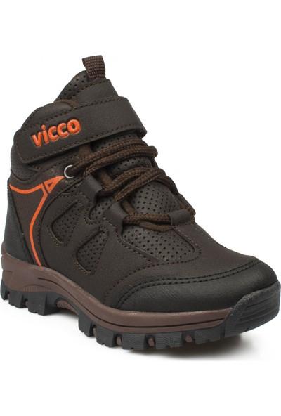 Vicco 869.P19K.399 Patik Trekking Kahverengi Çocuk Bot