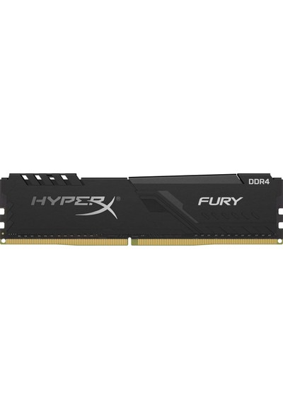 Kıngston 16GB 3200MHZ Ddr4 CL16 Dımm Hyperx Fury Black Serısı - HX432C16FB3/16
