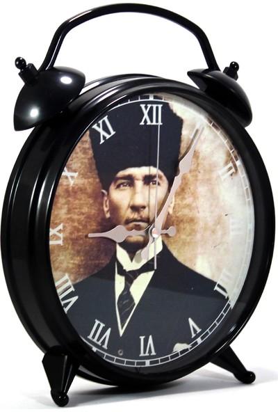 Modaroma Mustafa Kemal Atatürk Masa Duvar Saati