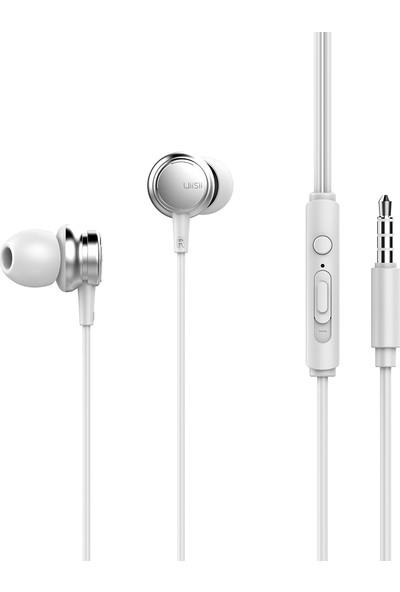 UiiSii HM9 Kablolu Mikrofonlu Metal Kulaklık