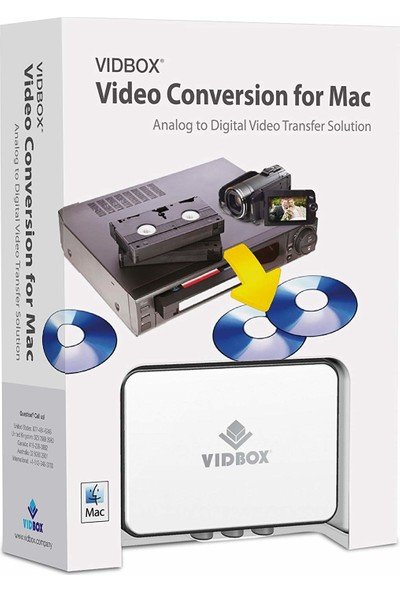 Vıdbox Video Conversion For Mac