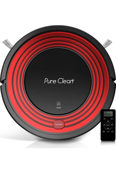Pure Clean Robot Vacuum Cleaner With Programmable Self Activation And Automatic Charge Dock