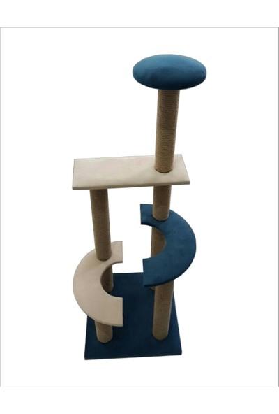 Zigana Pet Kedi Tırmalama 40 x 40 x 105 cm Ay Model