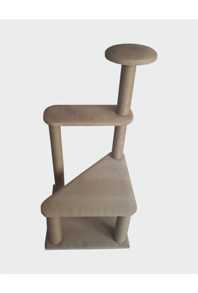 Zigana Pet Kedi Tırmalama 50 x 50 x 103 cm Büyük Üçgen Model