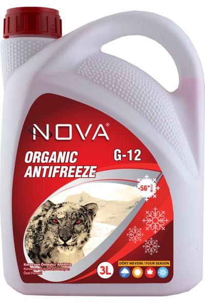 Nova -56 Derece Organik Kırmızı Antifriz 3 Lt