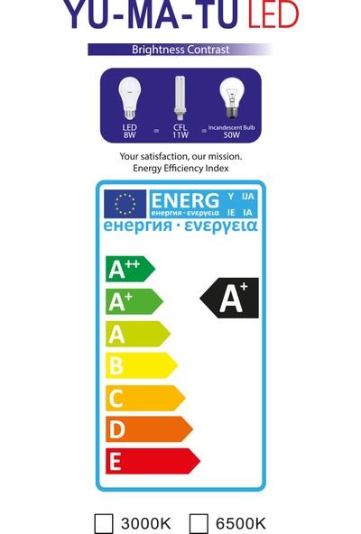 Yumatu Şarjlı 8 W LED Ampül