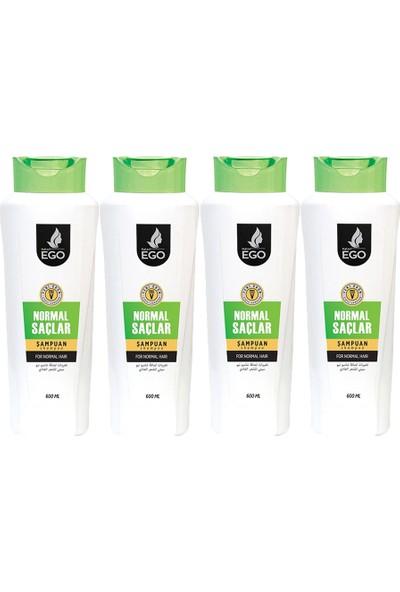 EGO Normal Saçlar İçin Şampuan 600 ml x 4