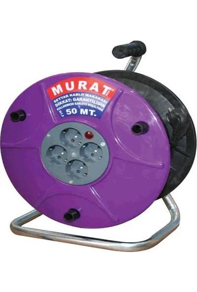 Murat Makaralı Uzatma Kablosu 50 M (3*2,5)