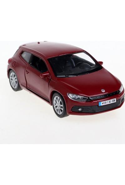 Welly 136 Volkswagen Scirocco Model Araba Kırmızı