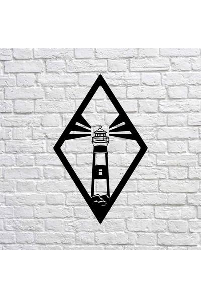 Bafidica Lighthouse Metal Tablo