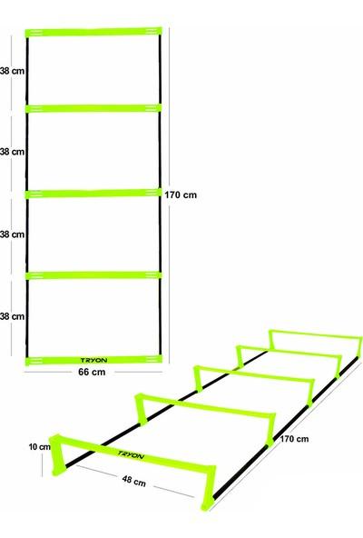 Tryon Tam-2 Yükseklik Ayarlı Antrenman Merdiveni