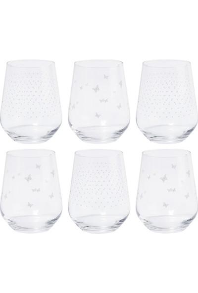 Tanti̇toni̇ 6 Parça Butterfly Effect Su Bardağı Takımı