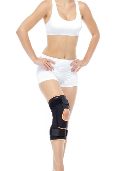 Orlex® Orx-Dz 15 Patella ve Ligament Destekli Önü Yarım Açık Dizlik