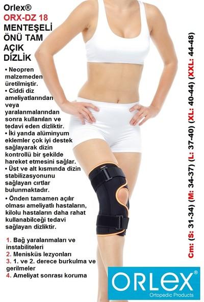Orlex® Orx-Dz 18 Menteşeli Önü Yarım Tam Açık Dizlik