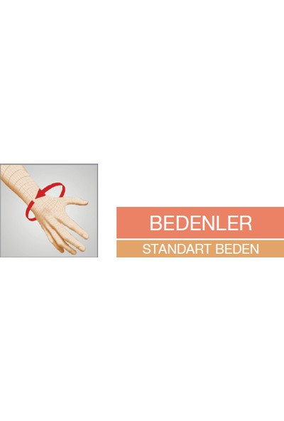 Orlex® Orx-St 125 Standart Patella ve Ligament Destekli Dizlik