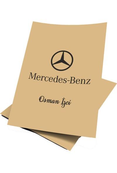 Baskı Life Kişiye Özel Baskılı Mercedes Oto Paspas Kağıdı 43 x 31 cm 100 Adet