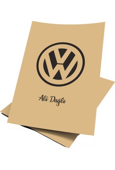 Baskı Life Kişiye Özel Baskılı Volkswogen Oto Paspas Kağıdı 43 x 31 cm 100 Adet