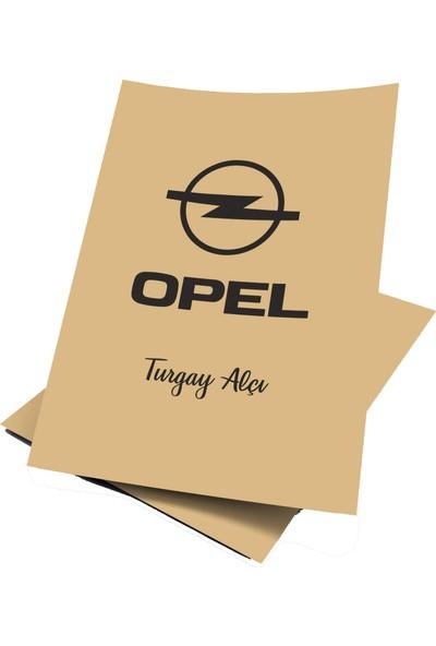 Baskı Life Kişiye Özel Baskılı Opel Oto Paspas Kağıdı 43 x 31 cm 100 Adet