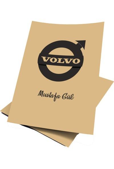 Baskı Life Kişiye Özel Baskılı Volvo Oto Paspas Kağıdı 43 x 31 cm 100 Adet