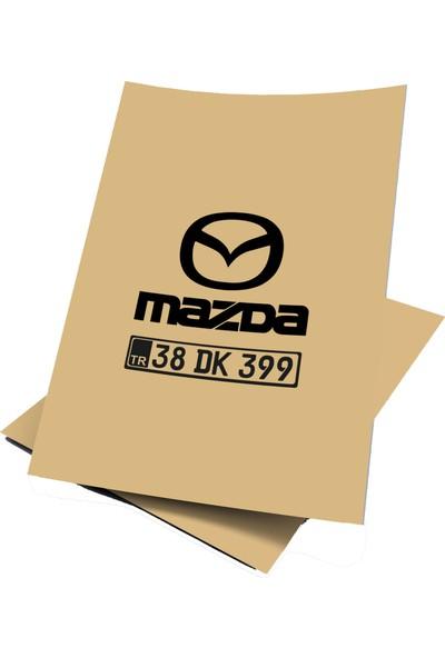 Baskı Life Kişiye Özel Baskılı Mazda Oto Paspas Kağıdı 43 x 31 cm 100 Adet
