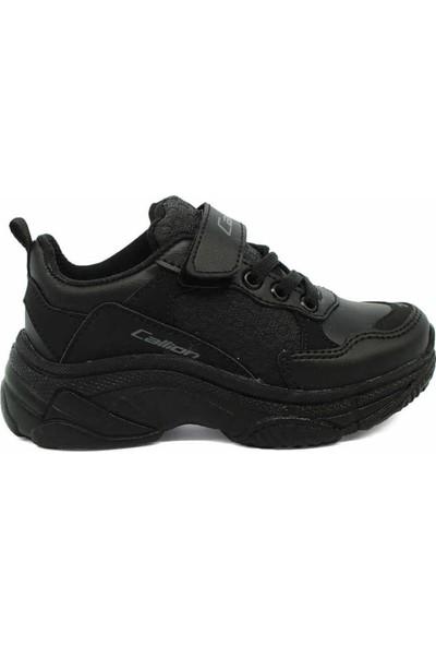 Callion Erkek Kız Çocuk Ayakkabı Siyah 31-35 Numara