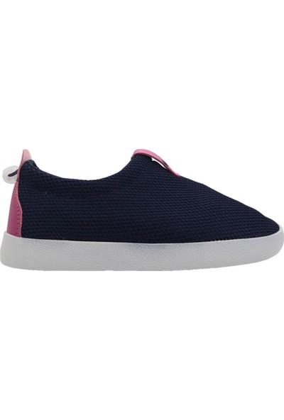 Cool Kids Shoes Çocuk Lacivert Pembe Aqua Ayakkabı