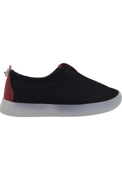 Cool Kids Shoes Çocuk Siyah Kırmızı Aqua Ayakkabı