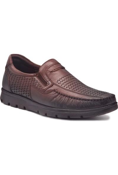 Forelli Erkek Deri Yazlık Comfort Ayakkabı