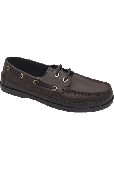 Serdar Yeşil Erkek Deri Bağcıklı Yazlık Ayakkabı
