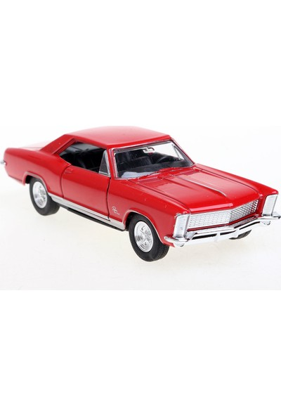 Welly 1:36 1965 Buick Riviera Model Araba 4'lü Set