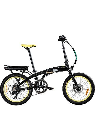 Benelli Zero N2.0 Fat Katlanabilir Elektrikli Bisiklet - Sarı Siyah