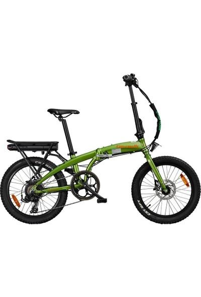Benelli Zero N2.0 Fat Katlanır Elektrikli Bisiklet - Yeşil