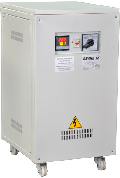 Demiriz MSR-20 160V-250V 20VA Monofaze Tam Otomatik Servo Voltaj Regülatörü