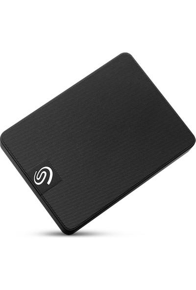 Seagate One Touch 1TB USB 3.0 Taşınabilir SSD (Black Woven Fabric) STJD1000400