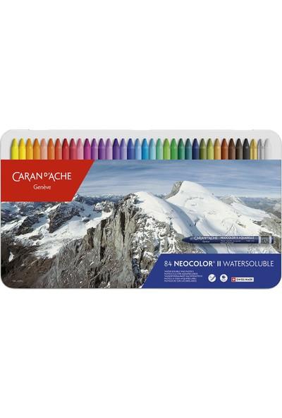 Caran d'Ache Neocolor® Iı Suda Çözünen Pastel Boya – 84 Renkli