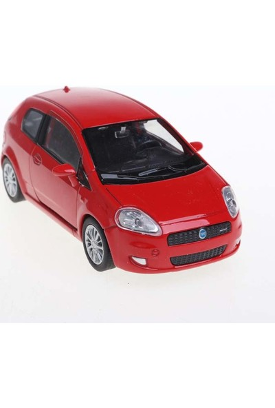 Welly Fiat Punto 1-36 Model Araba 4'lü Set