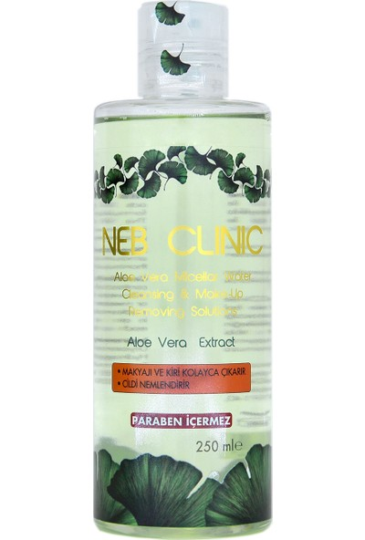 Neb Clınıc Makyaj Temizleme Suyu Aloe Vera Ekstraklı 250ML