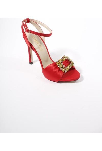 Oflaz KD127 Abiye Kadın Platform Ayakkabı
