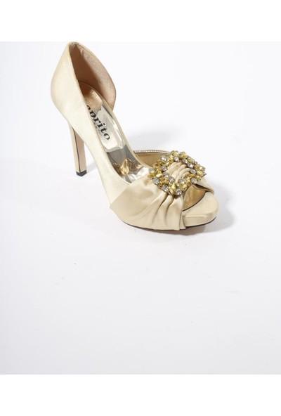 Oflaz KD129 Abiye Kadın Platform Ayakkabı