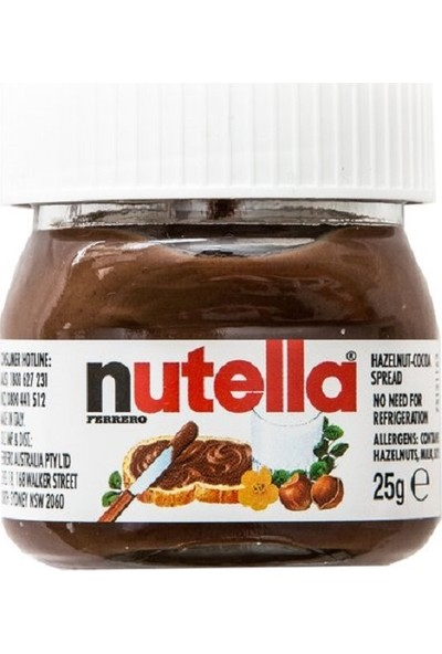 Nutella Mini Fındık Kreması 6'lı Set 25 gr