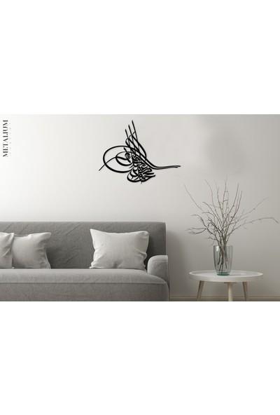 Metalium Concept Osmanlı Tuğrası Metal Tablo