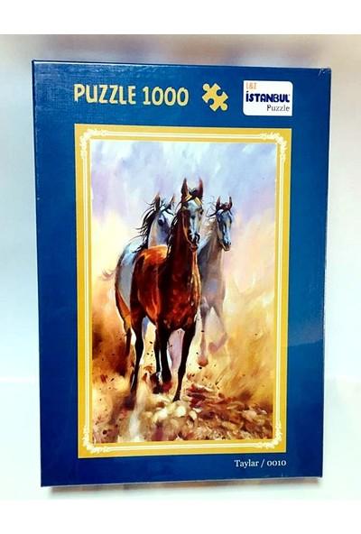 İstanbul Puzzle Taylar Temalı 1000 Parça Puzzle