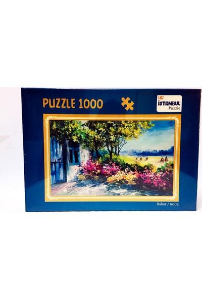 İstanbul Puzzle Bahar Temalı 1000 Parça Puzzle