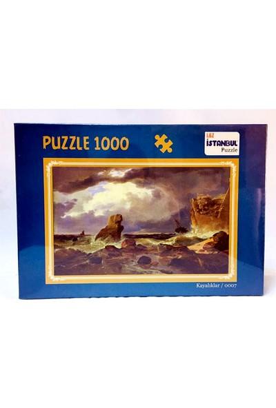 İstanbul Puzzle Kayalıklar Temalı 1000 Parça Puzzle
